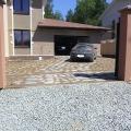 Заезд в гараж и автомобильная парковка из Экотротура.