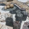 Образцы крошки из природного камня.