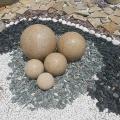 Образцы крошки из натурального камня.