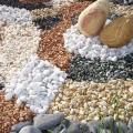 Образцы крошки из натурального камня