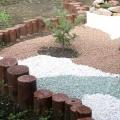 Крошка из натурального камня в ландшафтном дизайне