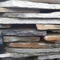Рекомендуемая толщина камня серицит при отделке вертикальных поверхностей.